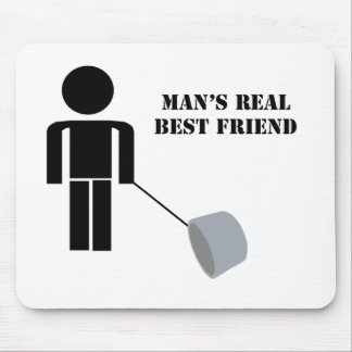 Duct Tape Humor Man s Best Friend Mouse Pads