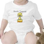 Duct Tape Humor Yellow Duck Taped Tee Shirts