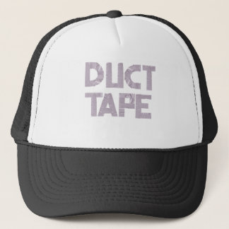 DUCT TAPE in duct tape font Trucker Hat