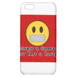 Duct Tape Is Silver iPhone 5C Case