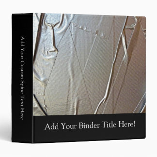 Duct Tape Look 3 Ring Binder