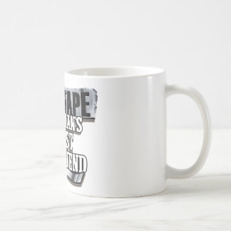 Duct Tape Mans Best Friend Coffee Mug