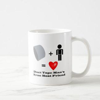 Duct Tape Man's Best Friend Handyman Humor Coffee Mug