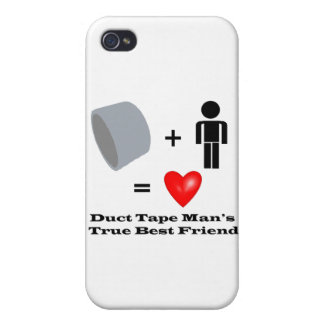 Duct Tape Man's Best Friend Handyman Humor iPhone 4 Cover