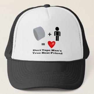 Duct Tape Man's Best Friend Handyman Humor Trucker Hat