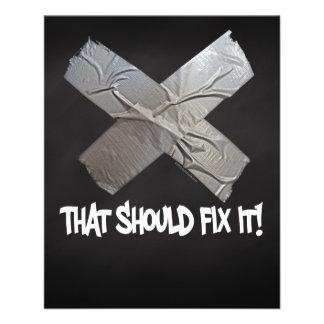 Duct Tape Should Fix It Flyer