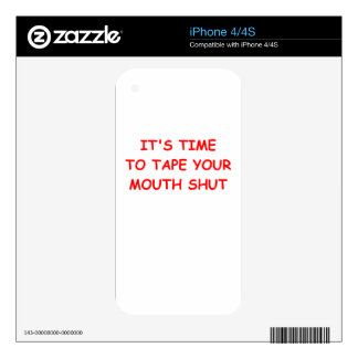 duct tape decals for iPhone 4