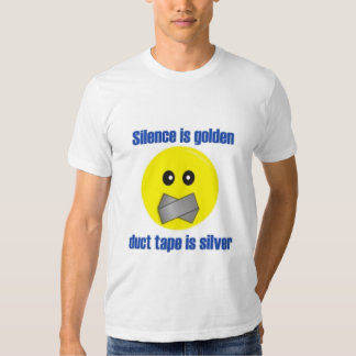Duct Tape Smiley Tee Shirt