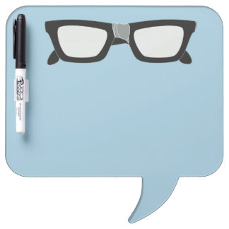 Duct-Taped Glasses Dry Erase Whiteboard
