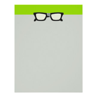 Duct-Taped Glasses Letterhead Design