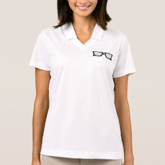 Duct Taped Glasses Polo Shirt