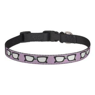 Duct Taped Glasses Dog Collars