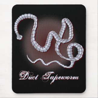 Duct Tapeworm Mouse Pad