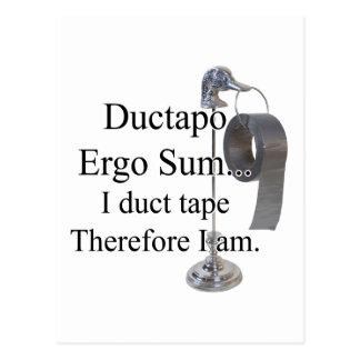 DuctTapo Postcard