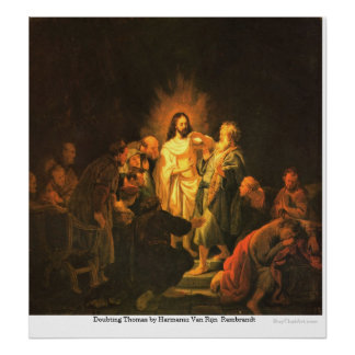 Dudar a Thomas de Harmensz Van Rijn Rembrandt Impresiones