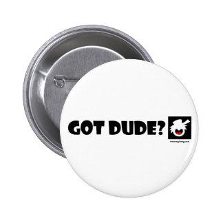 DUDE-1 imanes PUROS, pegatinas, botones