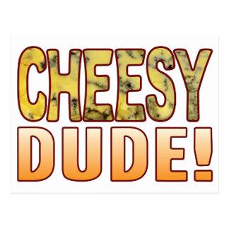 Dude Blue Cheese Postcard