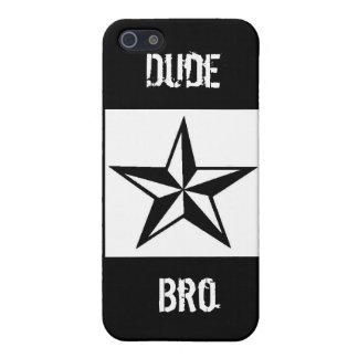 Dude Bro iPhone 4 case