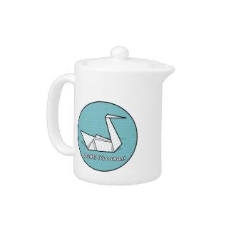 Dude! It's a swan! Teapot