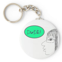 dude key chain wired