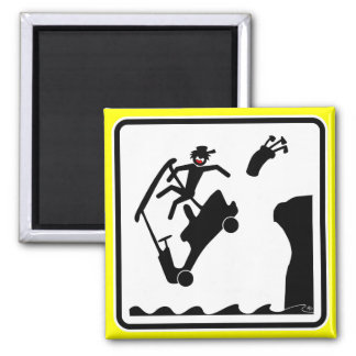 DUDE off the deck-4 Refrigerator Magnet