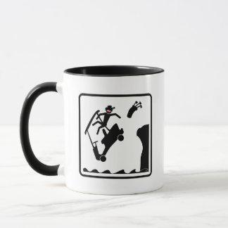 DUDE off the deck-4 Mug