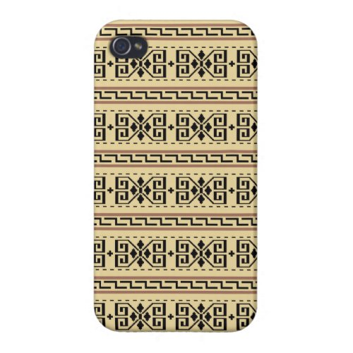 Dude Pattern iPhone Case