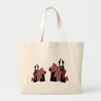 Dude Rabbits Jumbo Tote Bag