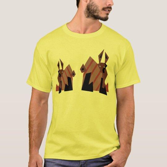 Dude Rabbits T-Shirt