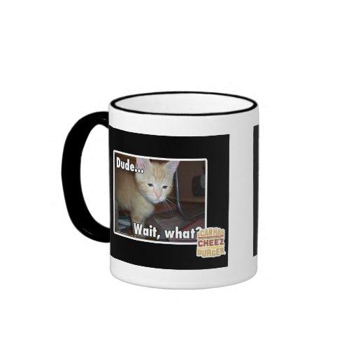 Dude Ringer Coffee Mug