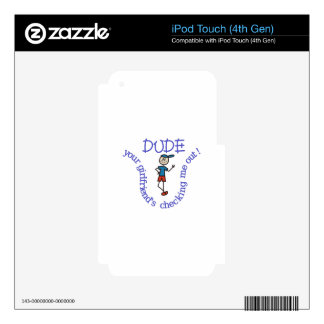 Dude Skin For iPod Touch 4G