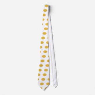 Dude Stand Up Paddle Board Oval Drawing Neck Tie