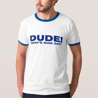 Dude! Sweet! Men's Ringer T-Shirt