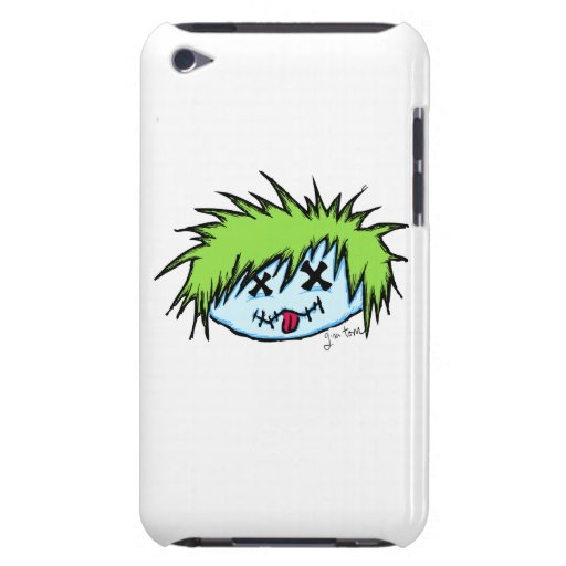 Dude Zombie Barely There iPod Cases