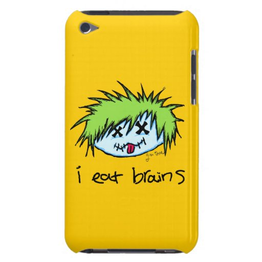 Dude Zombie iPod Case-Mate Cases