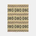 Dudeism Cowichan Fleece Throw Blanket