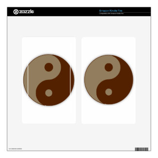 Dudeism Ying Yang Skins For Kindle Fire