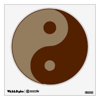 Dudeism Ying Yang Wall Sticker