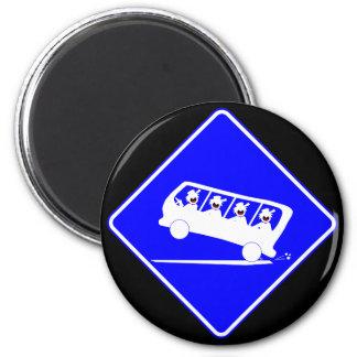 DUDES in transit-3 Magnet
