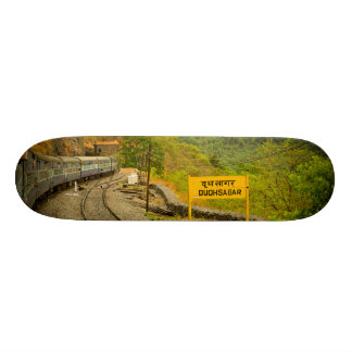 Dudhsagar falls on the way to Goa Skate Deck