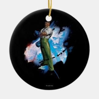 Dudley Ceramic Ornament