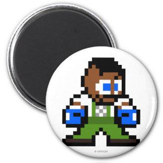 Dudley de 8 bits imán de frigorifico