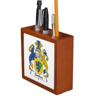 Dudley Family Crest Pencil/Pen Holder
