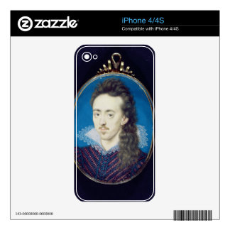 Dudley North (1581-1617) 3rd Baron North, 1608-10 iPhone 4 Skins