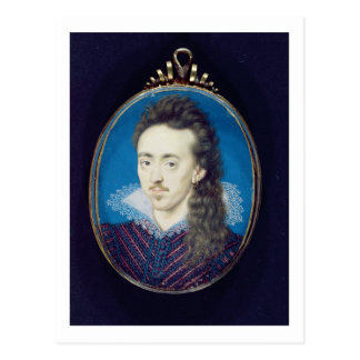 Dudley North (1581-1617) 3rd Baron North, 1608-10 Postcard