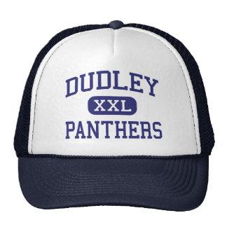 Dudley - panteras - alto - Greensboro Gorras De Camionero