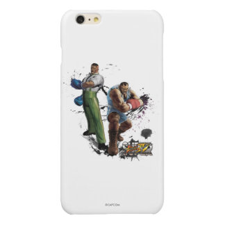 Dudley Vs. Balrog Glossy iPhone 6 Plus Case