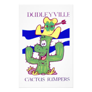 Dudleyville Cactus Jumpers 4H Club Customized Stationery
