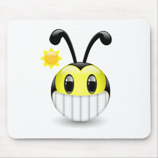 Dudu Bee Bright Smile Mouse Pad