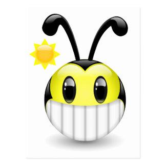 Dudu Bee Bright Smile Postcard